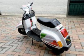 wrapping su vespa